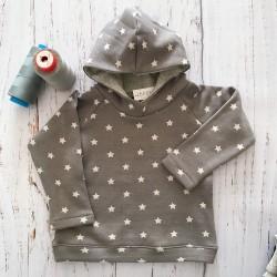 Sudadera estrella gris