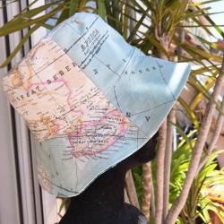Gorro Piluso- mapamundi