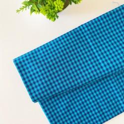 Cubrepañal VICHY blue