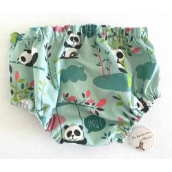 Cubrepañal Panda en arbol