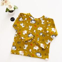Camiseta Leones y Elefantes